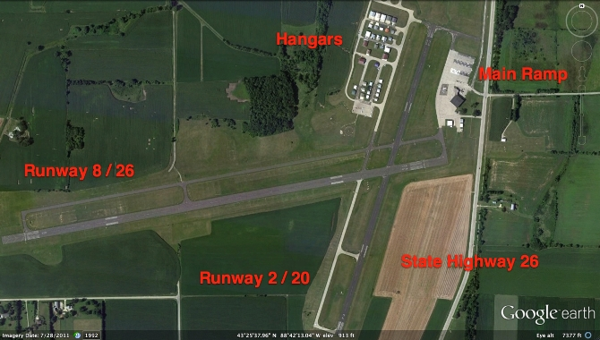 Dodge County Airport Wide Area