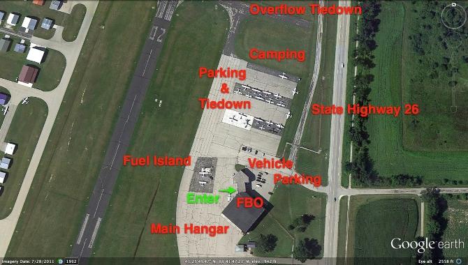 Dodge County Airport Main Ramp