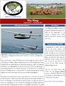Current issue of The Pirep